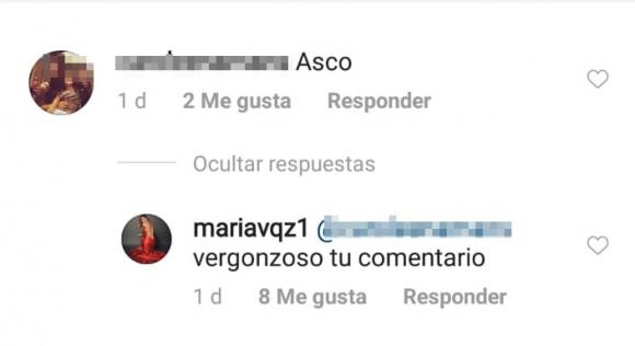 """María Vázquez, tras ser atacada por su delgadez: """"Si entendieran no verían huesos, verían fibras y músculos"""""""