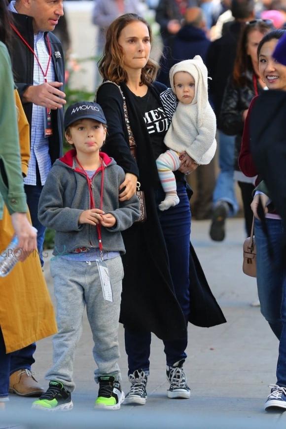 Natalie Portman y la relación con su esposo e hijos - Ciudad Magazine
