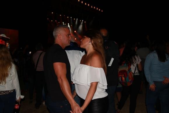 Nazarena Vélez tuvo su primera salida oficial con su novio Leandro Camani