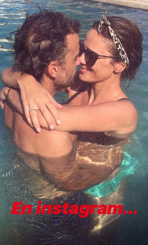 """Paula Chaves y Pedro Alfonso mostraron un divertido """"en la vida real y en Instagram"""""""