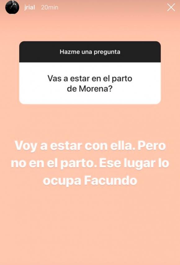 """Jorge Rial habló de su relación con Morena y ¿estará en el parto de su nieto?: """"Ese lugar lo ocupa Facundo"""""""