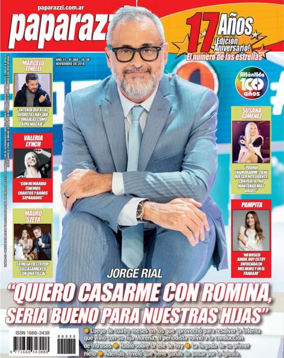 """Jorge Rial y el rumor de acercamiento de Silvia D' Auro tras el embarazo de Morena: """"¿La madre? Se..."""""""