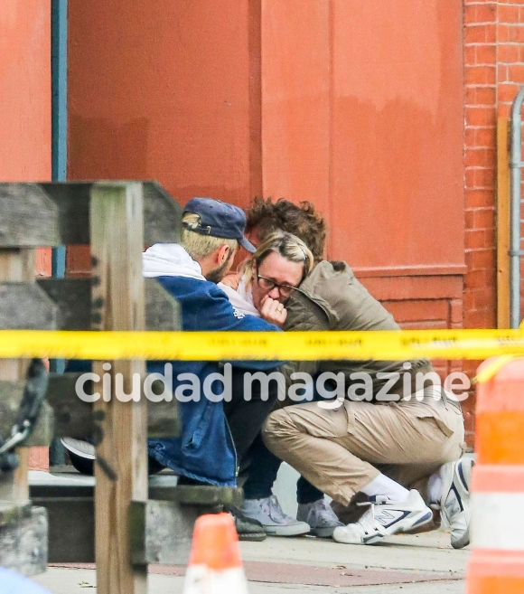 Captaron a Sean Penn increpando al novio de su hija