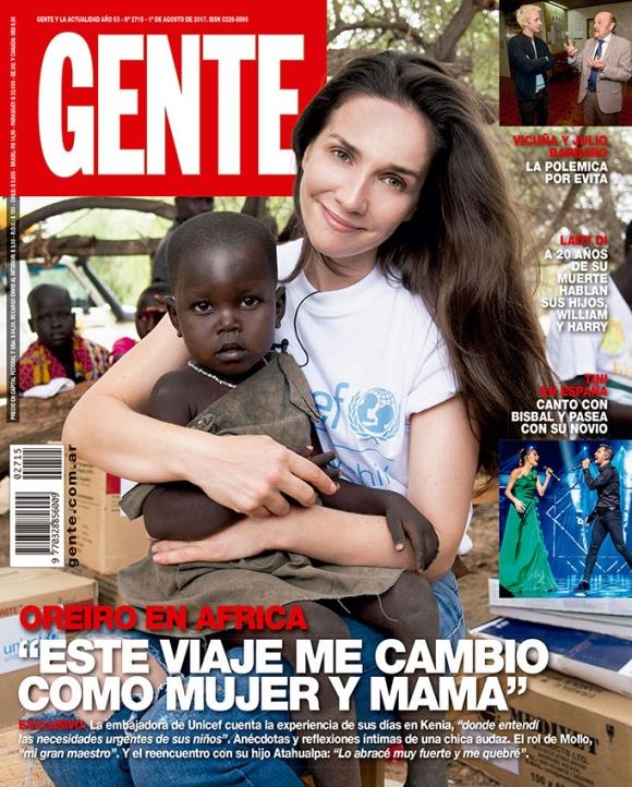 Federico Bal durísimo con la foto de Natalia Oreiro en África