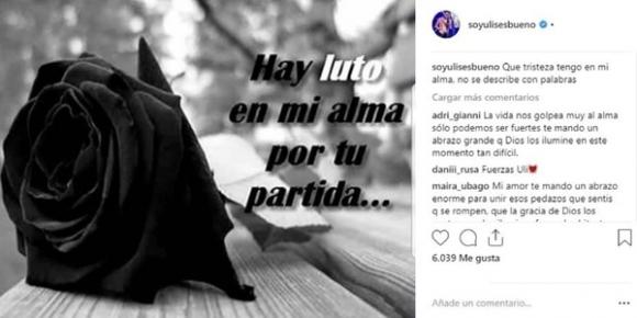 El doloroso momento que atraviesa la familia de Rodrigo Bueno