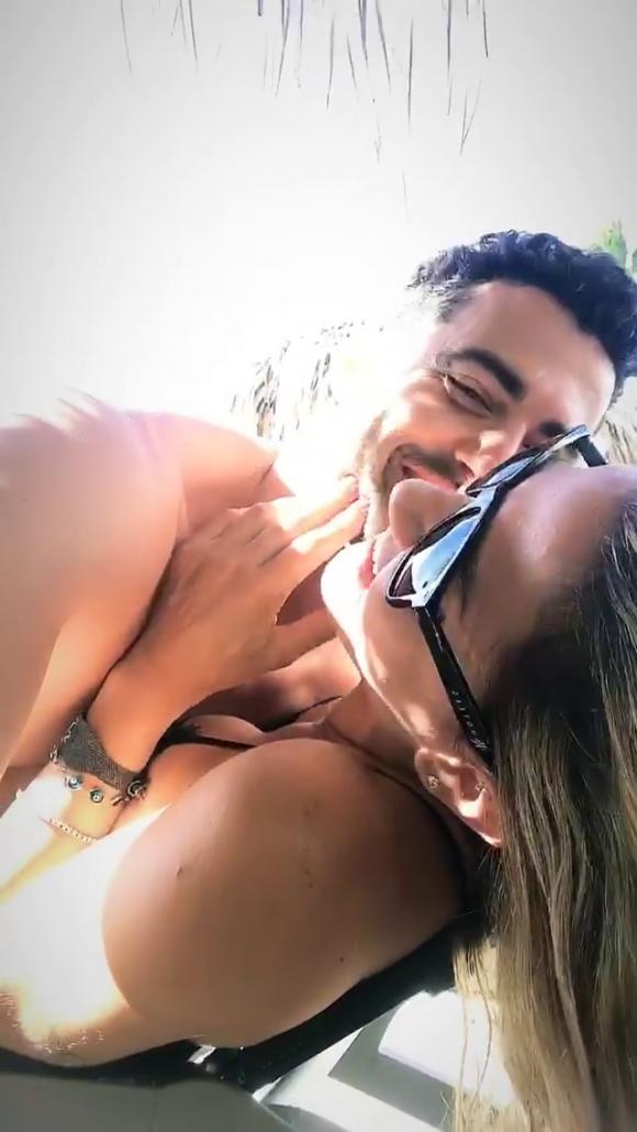 """El álbum de fotos de las vacaciones hot de Jimena Barón y Mauro Caiazza en el Caribe: """"Al fin solos"""""""