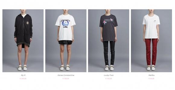 Mirá cuánto cuesta la ropa diseñada por Wanda Nara (FOTOS)