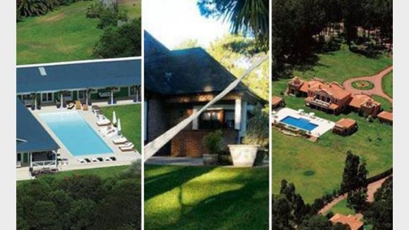 Las impresionantes mansiones veraniegas de los famosos for Chimentos de famosos argentinos