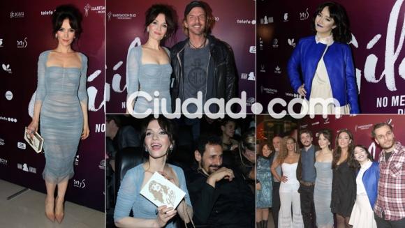 Hall de famosos en el esperado estreno de Gilda, protagonizada por Natalia Oreiro. (Foto: Movilpress)