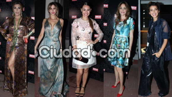 Las celebrities lucieron sus mejores looks en la fiesta (Fotos: Movilpress).