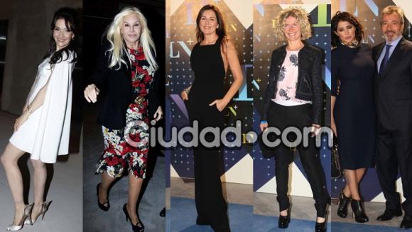 Los famosos en el lanzamiento de La Nación TV (Fotos: Movilpress).