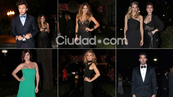 Los famosos en el evento top del jueves por la noche. Fotos: Movilpress.