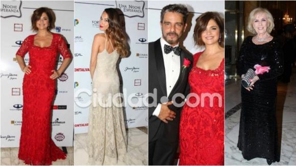 Los famosos en la gala benéfica de Araceli González para Pilares de esperanza. Foto: Movilpress