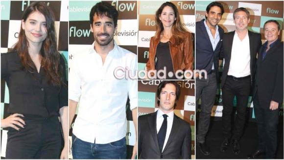 Varios famosos fueron al lanzamiento de Flow en el Faena Center (Foto: Movilpress)