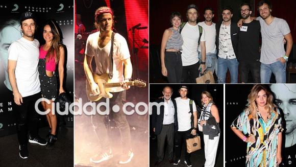 Benjamín Amadeo presentó su disco, Vida Lejana (Foto: Movilpress)