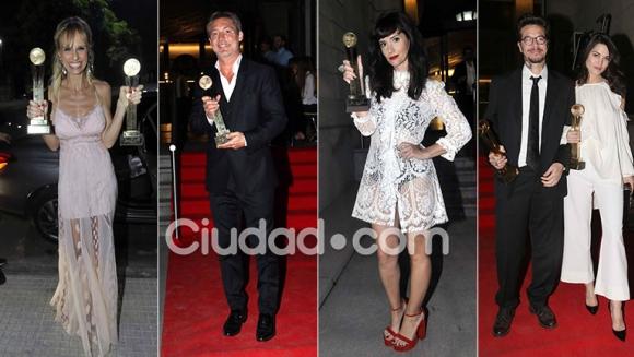 Todos los súper looks de los ganadores de los Premios Tato. (Foto: Movilpress)