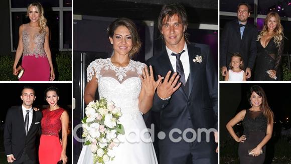 La boda de Tamara Alves y Patricio Toranzo. (Foto: Movilpress - Ciudad.com)