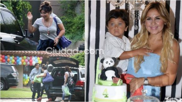 Las fotos del cumpleaños de Dieguito Fernando Maradona. Foto: Movilpress.