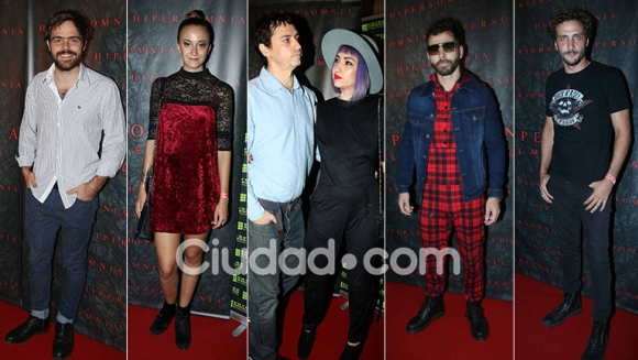 Looks y famosos cool en la alfombra roja de la premiere de Hipersomnia. (Foto: Movilpress)