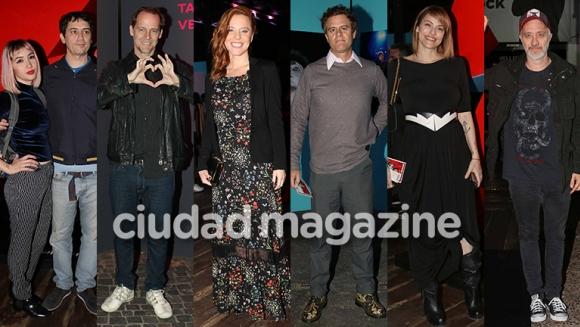 Los famosos en la inauguración de la exposición de Mick Rock (Fotos: Movilpress).