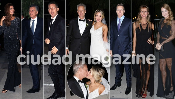 La boda de Hernán Nisenbaum y Luly Drozdek. (Foto: Movilpress)