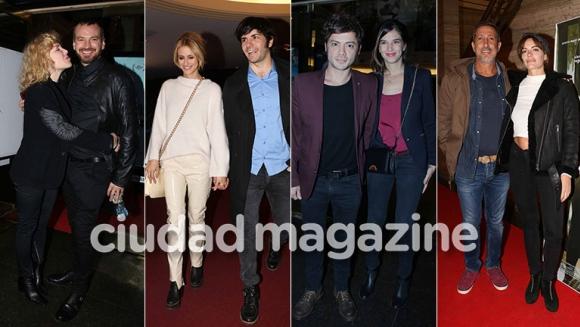¡Noche de cine! Parejitas y famosos cool en la noche porteña: espiá todos sus looks. (Foto:Movilpress)