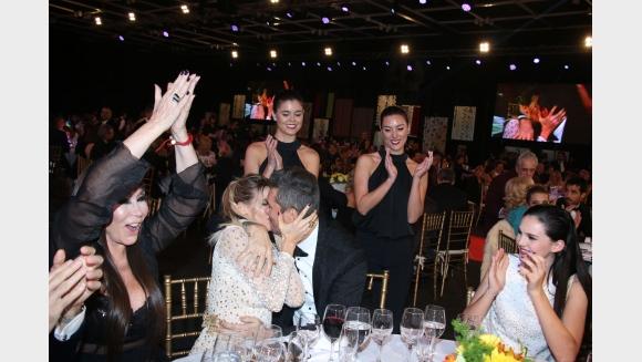 #MF2017: la intimidad de los famosos en el salón del Hilton. Foto: prensa @eltrece.