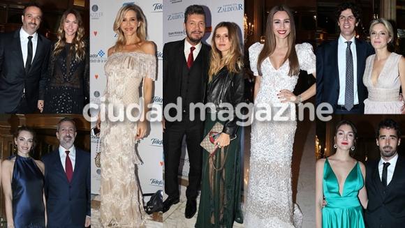 Los famosos dijeron presente en la gala de la Fundación Zaldivar (Fotos: Movilpress).
