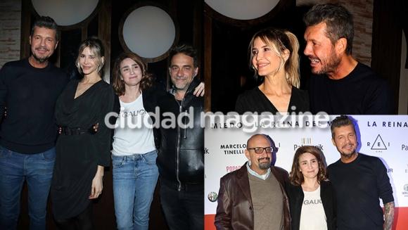 Tinelli, Guillermina, Bertuccelli, Vicentico y más invitados en el festejo (Fotos: Movilpress).