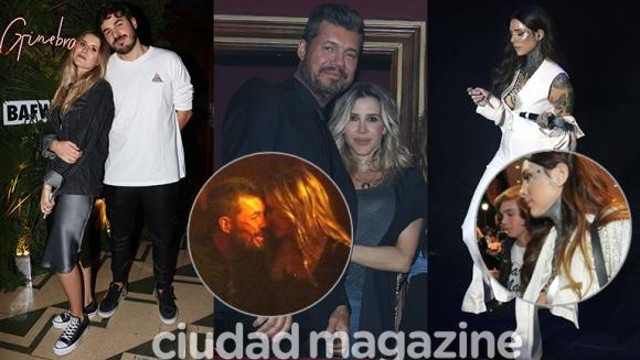 Los famosos dijeron presente en el desfile de Micaela Tinelli (Fotos: Movilpress).