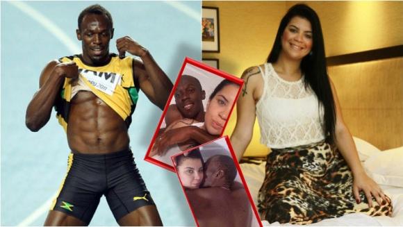 Las revelaciones hot de la brasileña, ex de un narco, que pasó una noche con Usain Bolt: