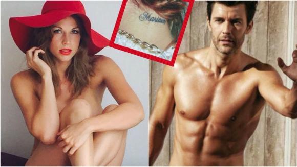 Juliana Giambroni contó porque sigue teniendo el tatuaje con el nombre de Mariano Martínez