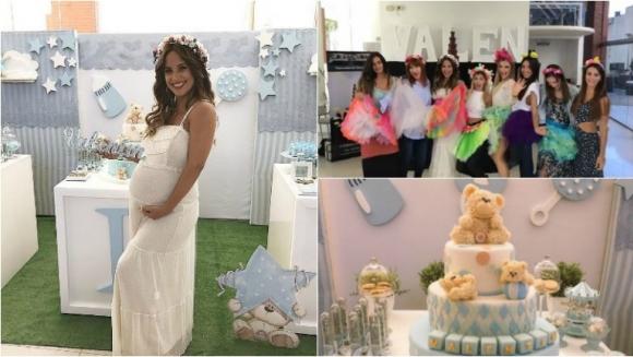 El baby shower a Lourdes Sánchez antes de la llegada de Valetín. Foto: Instagram