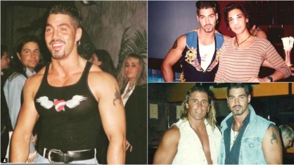 Difunden fotos inéditas de Ricardo Fort en los noventa. Fotos: Instagram