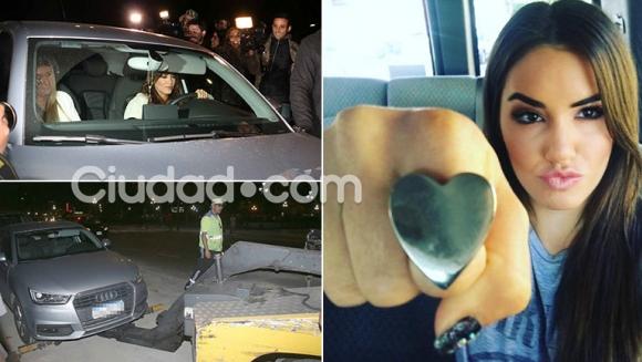 ¡Qué mala pata! Lali fue al estreno de Nieve negra… ¡y la grúa le llevó el auto cuando estaba en el cine! (Foto: Movilpress)