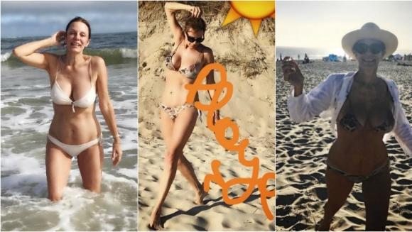 Nequi Galotti, diosa de 56 en las playas de José Ignacio: bikini, yoga... ¡y súper lomazo! Foto: Instagram