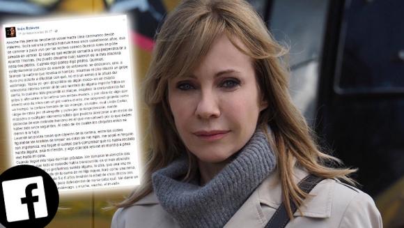 Estremecedor relato de Inés Estévez, tras un intento de asalto. (Foto: Facebook)