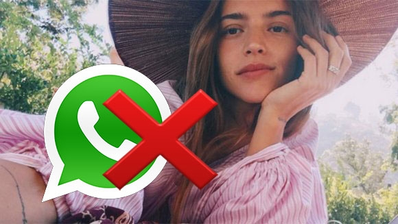 El motivo por el que Calu Rivero desinstaló WhatsApp de su teléfono. Foto: Instagram.