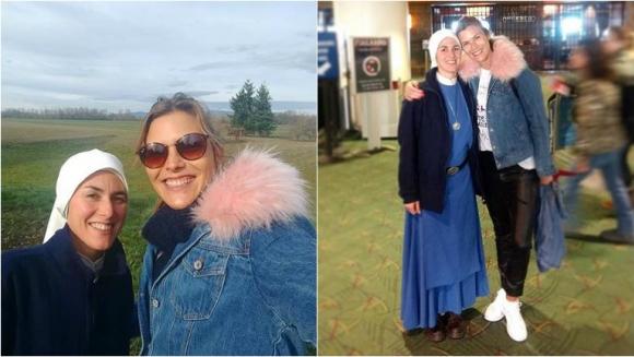 El emotivo encuentro de Pía Slapka con su hermana monja: Hace 7 años que se consagró a Dios; éramos muy unidas y...
