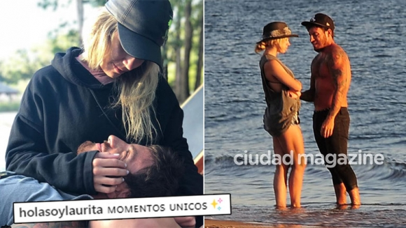 Laurita Fernández confirmó la reconciliación con Fede Bal con una tierna foto: Momentos únicos