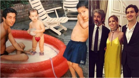 La tierna foto vintage de Ricardo Darín con sus hijos… ¡en una pileta de lona!: Chau, verano