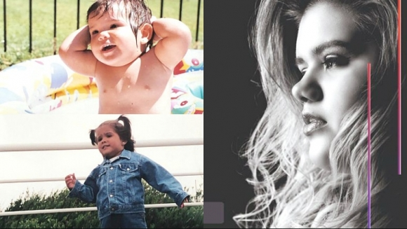 La conmovedora presentación de Morena Rial en su página web (Fotos: Instagram y Página web)