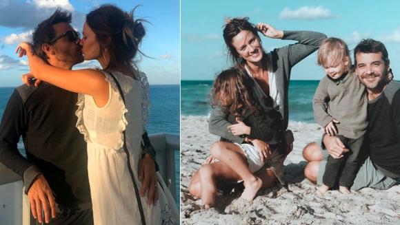Las vacaciones de Paula Chaves y Pedro Alfonso con sus hijos en Miami: No logramos una sola foto familiar mirando a cámara los 4