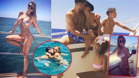 Evangelina Anderson, diosa sin filtros en Marbella. Disfrutó del mar Mediterráneo junto a su familia, abordo de un yate. (Fotos: Instagram)
