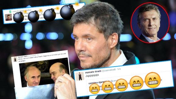 Marcelo Tinelli y sus tweets.