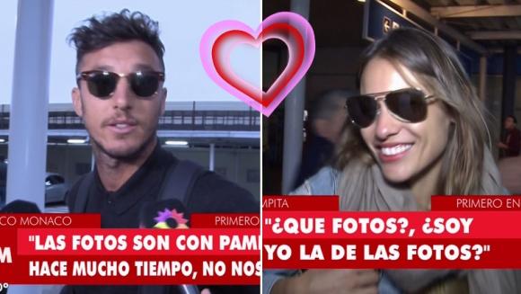 Pampita y Pico Mónaco llegaron a Argentina en el mismo vuelo: sus llamativas declaraciones