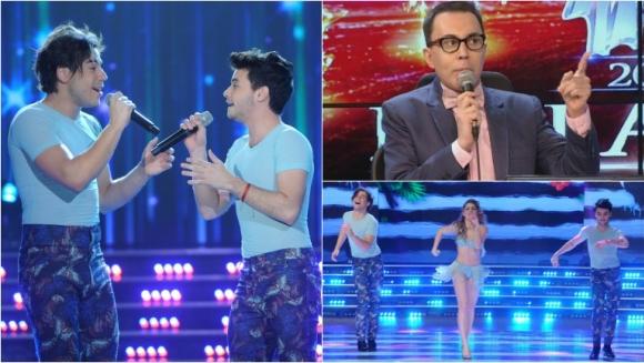 Fernando Dente y Agustín de Marama la rompieron con su voz en ShowMatch. Foto: Ideas del sur