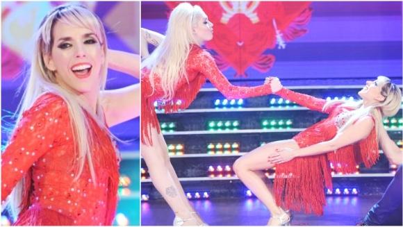 El debut de Tamara Pettinato en ShowMatch (Fotos: Prensa Ideas del Sur)
