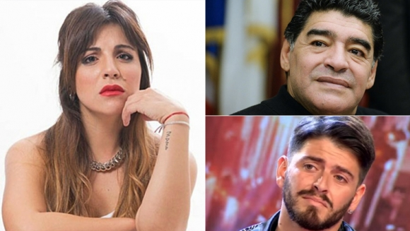 Gianinna Maradona, tras el reencuentro del Diez con Diego Junior (Foto: web)