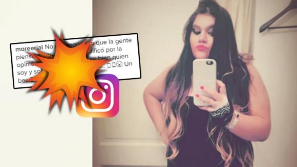 Morena le puso el pecho a las críticas (Foto: Instagram)